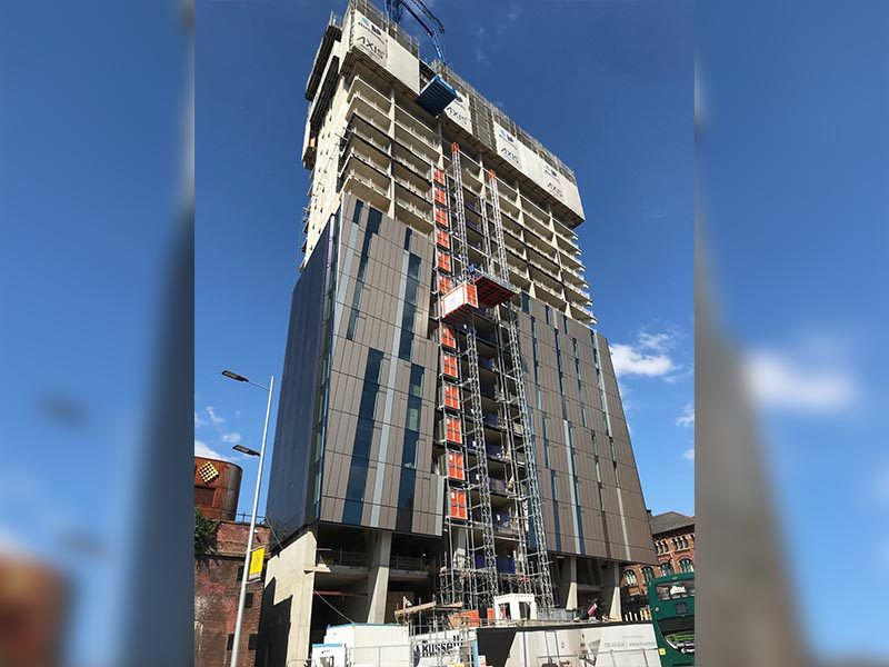 Axis Tower Manchester Luxury Apartments From 163 270 000